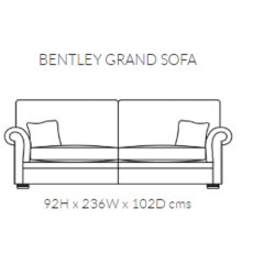 Duresta Bentley Grand Sofa