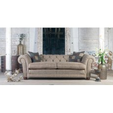 Tetrad Harris Tweed Castlebay 3 Seater Midi Sofa