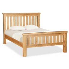Global home Salisbury : Slatted Bed (3 Sizes)