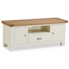 Global Home Suffolk Large Media Stand With Drawer