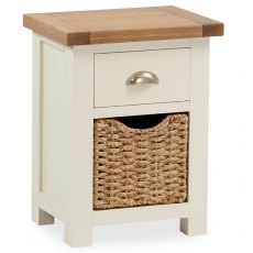 Global Home Suffolk Bedside Chest With Basket