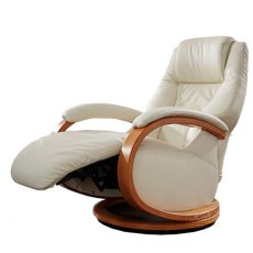 Himolla Mersey Manual Swivel Recliner Chair