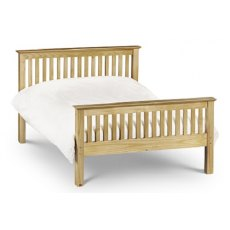Julian Bowen Barcelona High Foot End Pine Bed