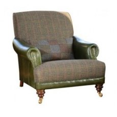 Tetrad Harris Tweed Taransay Gents Chair