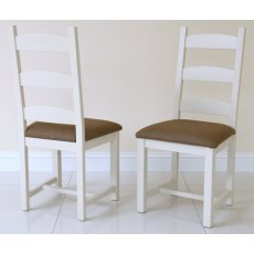Andrena Barley Ladder Back Dining Chair (Each)