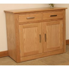 "Andrena Elements 3' 6"" Sideboard 2 Over 2"