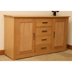 Andrena Elements 5' Sideboard With Centre Drawers