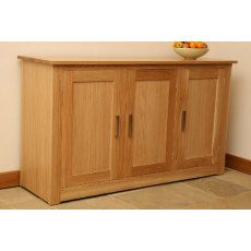 Andrena Elements 5' Sideboard With 3 Doors