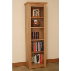 Andrena Elements Open Narrow Bookcase