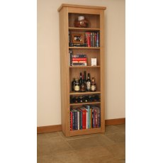 Andrena Elements Tall Medium Open Bookcase
