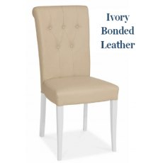 Bentley Designs Hampstead Two Tone Upholstered Dining Chair