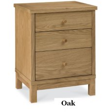 Bentley Designs Atlanta 3 Drawer Nightstand