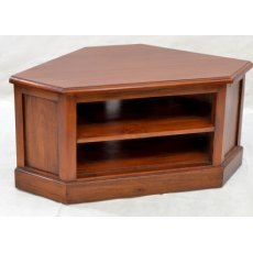 Ancient Mariner Mahogany Village Low Corner TV Unit