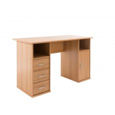 Alphason Desks Maryland Beech Effect Computer Desk