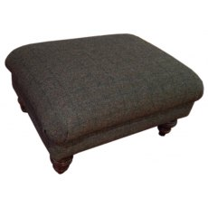 Tetrad Harris Tweed Braemar Footstool