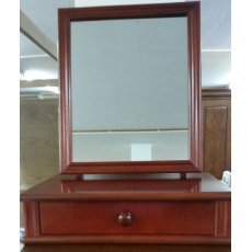 Morris Furniture Single Dressing Table Mirror With Drawer