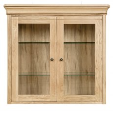 Clemence Richard Moreno Oak Sideboard Top With Glass Doors