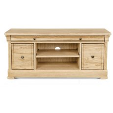Clemence Richard Moreno Oak TV Unit