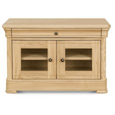 Clemence Richard Moreno Oak Small TV Unit