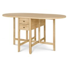 Clemence Richard Moreno Oak Drop Leaf Table