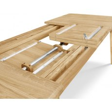 Clemence Richard Moreno Oak Extending Dining Table