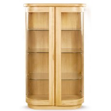Clemence Richard Sorento Oak Display Cabinet