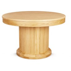 Clemence Richard Sorento Round Extending Dining Table
