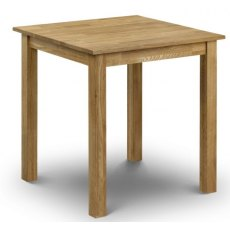 Julian Bowen Coxmoor Oak Square Dining Table