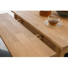 Julian Bowen Coxmoor Oak Extending Dining Table