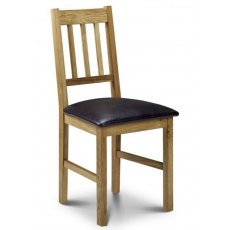 Julian Bowen Coxmoor Oak Dining Chair