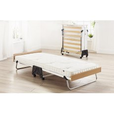 Jay-Be J-Bed Folding Bed With Pocket Sprung Anti-Allergy Mattress, Single