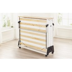 Jay-Be J-Bed Folding Bed With Pocket Sprung Anti-Allergy Mattress, Double