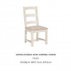 Baker Furniture Cotswold Upholstered Dining Chair