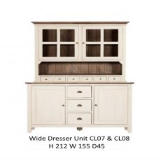 Baker Furniture Cotswold Wide Dresser