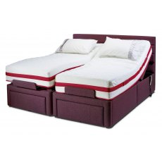 Sherborne Upholstery Dorchester Adjustable Bed with Deluxe Mattress Zero Vat Rated