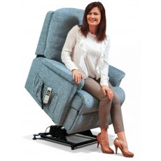 Sherborne Upholstery Keswick Rise And Recliner With Lumbar Adjust