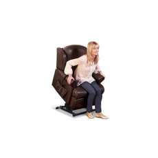 Sherborne Upholstery Malvern Rise And Recliner Lumbar Adjust (Zero Vat Rated)