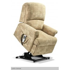 Sherborne Upholstery Nevada Rise And Recliner With Lumbar Adjust (Vat Exempt)