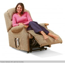 Sherborne Upholstery Malham Rise And Recliner With Lumbar Adjust Vat Zero Rated