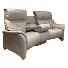 Himolla Chester Trapezodial 3 Seater Reclining Sofa with Tiltable Table