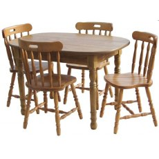 Glenwood Classic 4' Oval Extending Table