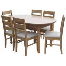 Glenwood Classic 5' Oval Extending Table