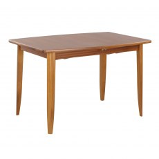 Nathan Classic Teak Small Boat Shaped Living & Dining Table on Legs
