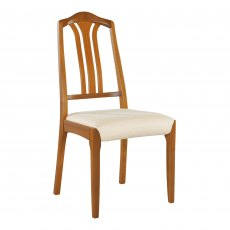 Nathan Classic Teak Slat-Back Living & Dining Chair