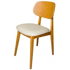 Hafren Contract Garda Dining Chair with Seren Seat Pad