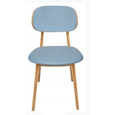Hafren Contract Garda Dining Chair with Seren Padded Back And Seat Pad