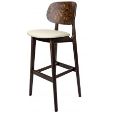 Hafren Contract Garda Bar Stool With Seren Seat Pad
