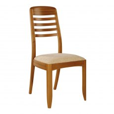 Nathan Classic Teak Ladder Back Living & Dining Chair