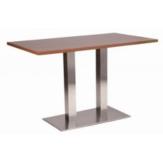 Hafren Contract Danilo Twin Pedestal Table With Premium Laminate Top