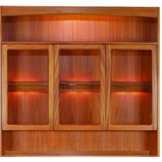 Nathan Classic Teak Display Combination Unit
